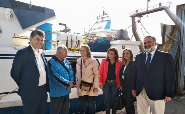 El PP insiste en la necesidad de la creación de una mesa por la pesca que  defienda el sector a nivel local, provincial y regional.