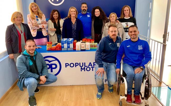 El  PP destaca la labor solidaria y trayectoria de la Asociación deportiva motrileña Run&Run Motril.