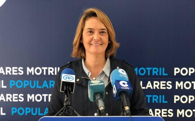 """""""Lo primero que haré si soy alcaldesa de Motril será aprobar unos presupuestos para Motril , no puede ser que una ciudad con más de 60.000 habitantes  lleve tres años con presupuestos prorrogados  y sin proyectos de futuro"""""""