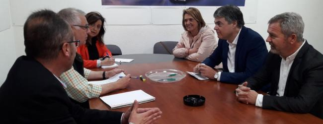 El PP y Regantes se reúnen para conocer los avances de las Conducciones de Rules