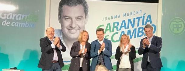 """Marifrán Carazo: """"Estoy segura que la Costa va a pedir y va a votar  cambio para Andalucía, el gobierno del cambio con Juanma Moreno, porque  el Partido Popular es partido de palabra y en Motril lo saben bien"""""""