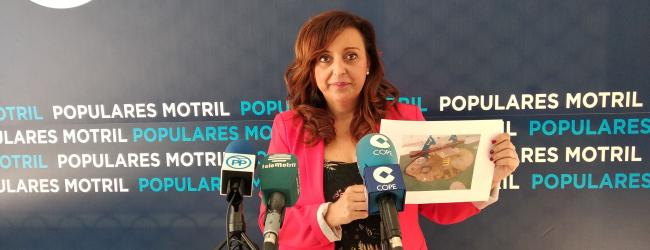 """López Cano: """"Durante los tres años del gobierno de Almón hemos pedido reiteradamente el arreglo del vial de la Rambla de las Brujas y numerosas deficiencias que presenta el barrio de Santa Adela."""