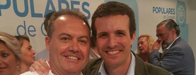 Pérez completa el equipo en el litoral granadino que ya lideraba José  García Fuentes, coordinador del PP en la Costa Tropical.