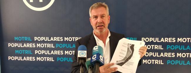 """García Fuentes: """"Almón conoce que el gobierno de España lleva varios años trabajando y destina 21 millones de euros para el desarrollo del Plan Estratégico de Protección de la Costa Tropical, que incluye los espigones y que se encuentra en estado avanzado de tramitación"""""""