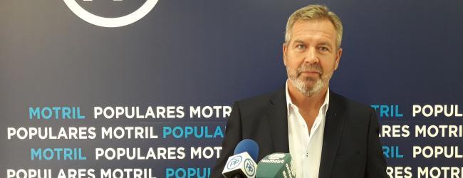"""García Fuentes: """"Mientras en España, en Andalucía y en la provincia de Granada la tasa de paro desciende, en Motril ha aumentado en el último año."""