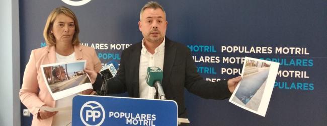 """Los populares han anunciado que van a pedir un pleno extraordinario para debatir sobre el estado de la ciudad y sobre la suciedad que tiene Motril """"que ya se ha convertido en un problema serio de salubridad""""."""