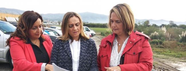 """Marifran Carazo: """"Llevaremos a todos los rincones la campaña de incumplimientos de la Junta de Andalucía con Motril, y nos comprometemos a ponerlos en marcha a partir del próximo día 2 de diciembre si Juanma Moreno es el presidente de todos los andaluces""""."""