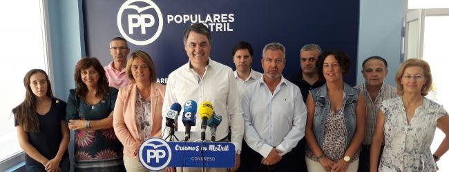 El Partido Popular invita a los motrileños a que asistan al evento y conozcan de primera mano el proyecto de ciudad que tiene para Motril.